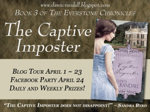 The Captive Imposter Sandra Byrd endorsed